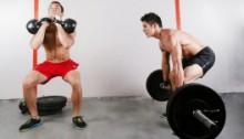 Strength training through back pain